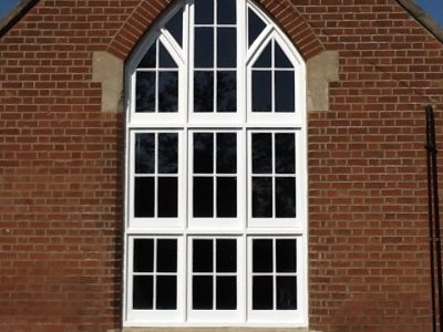 double glazed sash window installation