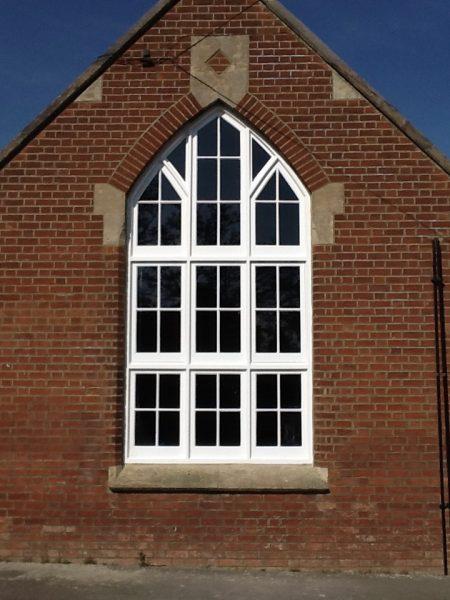 double glazed sash window installation