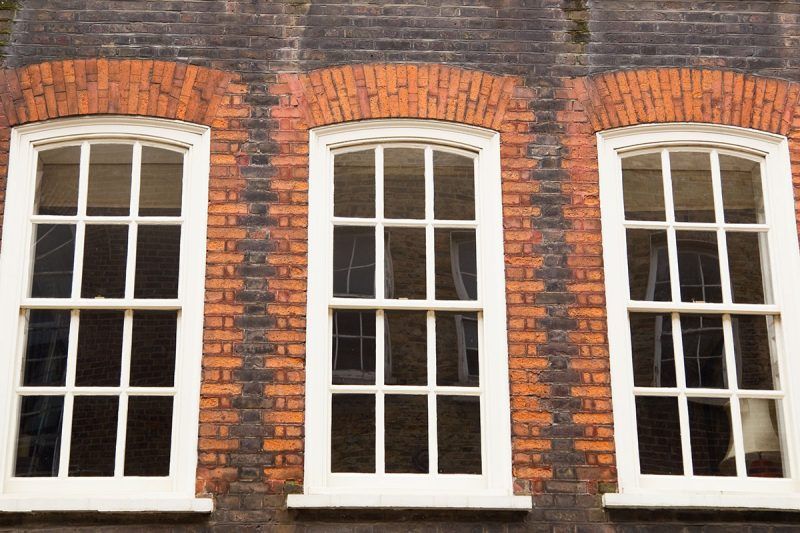 double glazed wooden sash windows